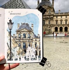 I'm in France for the next week, and what better way to start off my trip than with a sketch walk through the Mechanical Pencil Lead, Architecture Drawing Art, Art Case, Urban Sketching, Step By Step Drawing, Windmill, Urban Art, Art Sketches, France
