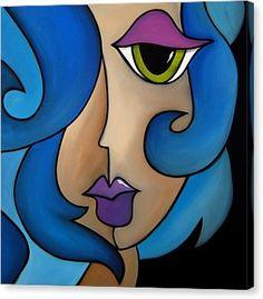 Mermaid Song Canvas Print by Tom Fedro - Fidostudio