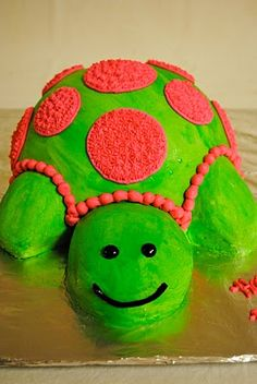 Turtle Cake, AWESOME!!!!!!!!!!