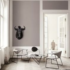 Couleur mur Living Spaces by SUITE New York modern family room Living Room Paint, Living Room Grey, Grey Room, Living Room Designs, Living Spaces, Modern Family Rooms, Modern Living, Modern Spaces, Small Living