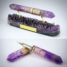 """The pen you pull out to write with when you have visions to manifest"" ✒✨ from @l_aquart MUST have this in my office someday - Know someone who would love this pen?  http://www.fountainpennetwork.com/forum/topic/258837-pens-made-of-stone/"