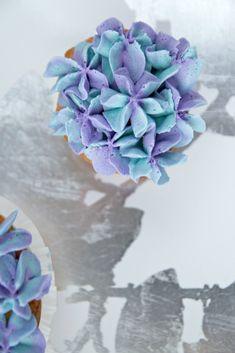 Hydrangea Cupcakes 4