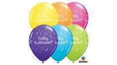 Boldog születésnapot lufi szerpentines 5 db, Nicol Party Kellék Bolt Party, Receptions, Parties