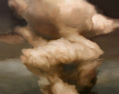 Ambera Wellman Cloud x Oil on Wood 2010 Heart Painting, Love Painting, Traditional Paintings, Traditional Art, Umbrella Art, Nautical Art, 3 Arts, Postmodernism, Exterior Paint