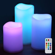 Led Flameless Candles Bulk, Battery Operated Candles With Timer Remote Luminara Flameless Candles, Flameless Candles With Timer, Bulk Candles, Led Candles, Home Altar, Burning Candle, Battery Operated, Hanging Lamps, Colorful