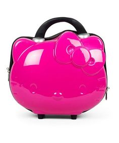 This Hello Kitty Pink Cosmetic Case is perfect!  zulilyfinds Cosmetic Case,  Sanrio, 6cac28045c