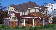 Plan de Costas contemporáneo Florida Casa 75125 Elevación