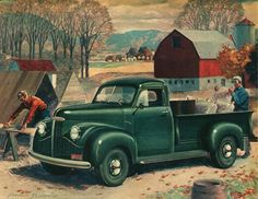 All sizes | 1946 Studebaker Coupe Express Half-Ton Pickup | Flickr - Photo Sharing!