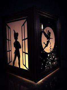 Peter Pan lantern home Disney decor Disney Diy, Disney Home, Disney Magic, Disney Crafts, Disney Dream, Disney Stuff, Lanterns Decor, Paper Lanterns, Tree Lanterns