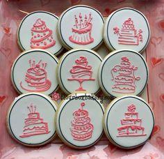 Cake design cookies