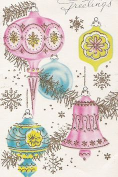 time to start addressing those Christmas cards! It's time to start addressing those Christmas cards!,It's time to start addressing those Christmas cards! Christmas Scenes, Noel Christmas, Pink Christmas, Christmas Greetings, Christmas Crafts, Christmas Blocks, Christmas Postcards, Retro Christmas Decorations, Vintage Christmas Images