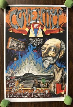 Original concert poster for Phish in Coventry, Vermont in This was the last show that they played in 2004 before going on a Phish Posters, Concert Posters, Movie Posters, Coventry, Vermont, Rock N Roll, Boss, To Go, The Originals