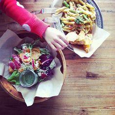 Lunch at Heirloom LA // Instagram @bonnietsang