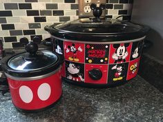 My mickey mouse slow cooker