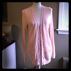 Light sweater Peach color light sweater large size from old navy good condition no damage Old Navy Sweaters Cardigans