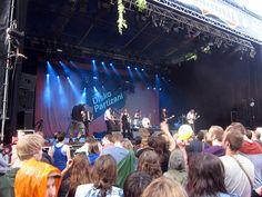 Shantel at the 2012 Cactus Festival, Flanders