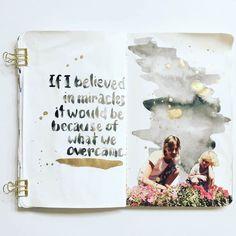 mama finch get messy art journal season of magic part 1 02