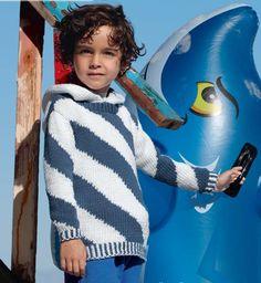 Пуловер со спиральными узорами - схема вязания спицами. Вяжем Пуловеры на Verena.ru
