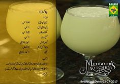 Healthy Juices, Healthy Drinks, Easy Cooking, Cooking Recipes, Masala Tv Recipe, Urdu Recipe, Main Course Dishes, Chocolate Mug Cakes, Juice Drinks