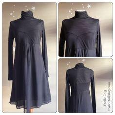 vestido negro en Etoile No.5 www.etoileno5.com