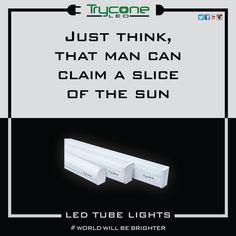 Just think, that man can claim a slice of the sun.  #tryconeled #LED #worldwillbebrighter #ledbulbs #ledecobulb #saveenergy #GoGreen #transformindia #LEDlighting #madeinindia #makeinindia #energyefficient #efficentlighting #switchtoled