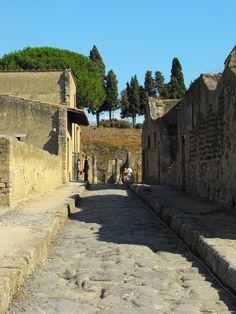 Herculaneum, Italy - Ercolano, Italia