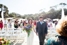 The bride and groom, Cat and Luke get married Who doesn't love a beach wedding on North Stradbroke Island. Absolute paradise and the best place to get married www.stradbrokeislandphotography.com Straddie Wedding Photographer
