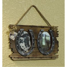 Hanging Horseshoe Picture Frames