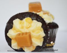 #salty #caramel #chocolate #seasalt #italiancream #dessert #delicious