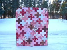 My Valentine's Plus Quilt