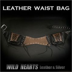 Leather Travel Fanny Hip Pack Waist Belt Bag/Pouch/WILD HEARTS Leather Silver http://item.rakuten.co.jp/auc-wildhearts/wb0969r85/