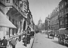 Fleet Street, City of London, c1900 (1911) Pictures | Getty Images