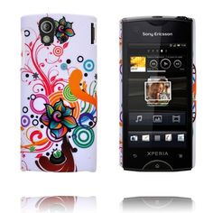 Valentine (Mixed Circles - Center Flower) Sony Ericsson Xperia Ray Cover