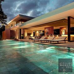 mwordbest - 0 results for architecture Modern Architecture House, Amazing Architecture, Architecture Design, Backyard Pool Designs, Swimming Pool Designs, Piscina Interior, Modern Villa Design, Beaux Villages, Cabin Homes