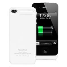 Case that charges the phone