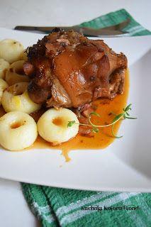 Kuchnia Koloru Blond: Golonka po bawarsku wg.M.Gessler Pork Recipes, Blond, Beef, Meat, Steak