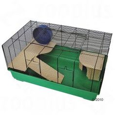 Barney hamster cage, perfect for a dwarf hamster with its 7mm bar spacing