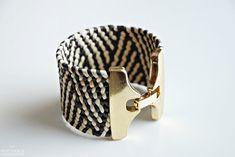 Tribal Bracelet  Gold by BoutiqueMinimaliste on Etsy