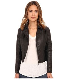 Billabong Night Moves Motorcycle Jacket Off Black - 6pm.com