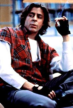 Judd Nelson pictured as John Bender in The Breakfast Club...