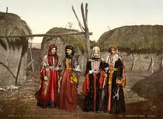 Tatar women of the Caucasus, Russian Empire, ca. 1895.jpg
