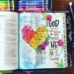 Put everything you've got into everything you do ❤️ Illustrated Faith, Bible Art, Everything, Journaling, Cover, Instagram Posts, Caro Diario