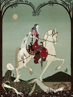Art And Illustration, Illustrations And Posters, Botanical Illustration, Art Magique, Kay Nielsen, Fairytale Art, Wow Art, Arabian Nights, Pics Art