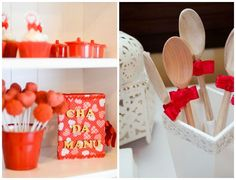 decorating with hearts