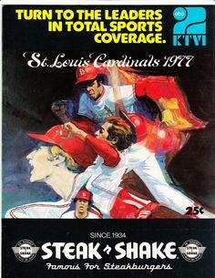 1977 Cardinals Scorecard