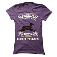 Dutch shepherd Mom T Shirts, Hoodie Sweatshirts