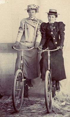 The Two Janes - Colorado Springs, Co  ca. 1900