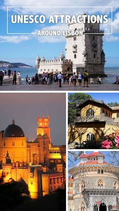 UNESCO listed attractions around Lisbon Make the most of your holiday in Lisbon with this travel guide to must-visit Portuguese UNESCO heritage sites around Lisbon. Visit Portugal, Spain And Portugal, Portugal Travel, Lisbon Portugal, Portugal Trip, Lonely Planet, Travel Around The World, Around The Worlds, Portugal Holidays