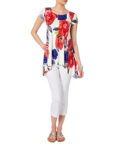 All New Arrivals   Multi Electra Print Top   Phase Eight