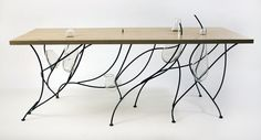 Minimalist And Philosophical Dining Table by Lucas Martin